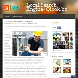 Electricians command the Los Angeles « Local Search Engine-Qlook.bz