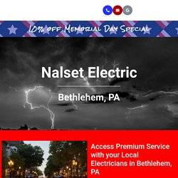 Hiring Local Electricians in Bethlehem PA to Wire a Home Addition.
