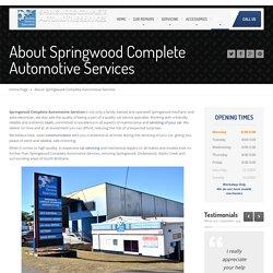 Auto Electricians South Brisbane, Springwood, Underwood, Slacks Creek
