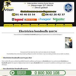 Electricien bondoufle - electricien 91070