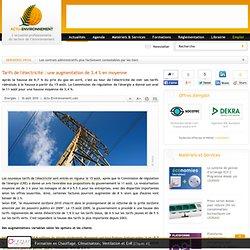 Augmentation des tarifs de l 39 lectricit en france 2010 2020 pearltrees - Augmentation prix electricite ...