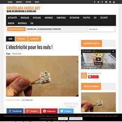 L'électricité pour les nuls