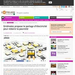 Gridmates propose le partage d'électricité pour réduire la pauvreté