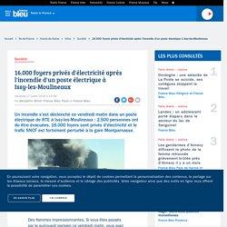 16.000 foyers privés d'électricité après l'incendie d'un poste électrique à Issy-les-Moulineaux