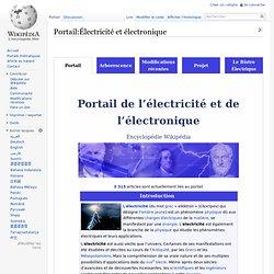 Portail:Électricité et électronique