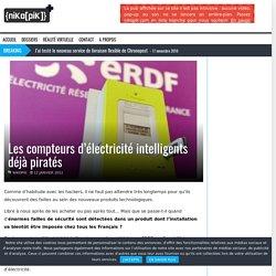 Les compteurs d'électricité intelligents déjà piratés