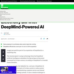 Google Cuts Its Giant Electricity Bill With DeepMind-Powered AI