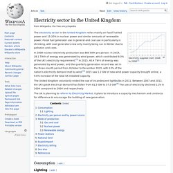 Electricity sector in the United Kingdom - Wikipedia