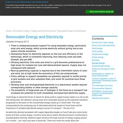 Renewable Energy - World Nuclear Association