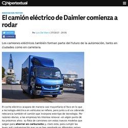 El camión eléctrico de Daimler comienza a rodar