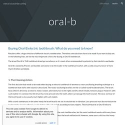 electrictoothbrushhq - oral-b