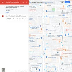 ElectricToothbrushHQ Oral-B Reviewer Team– Google MyMaps