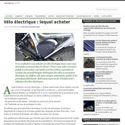 Vélo électrique : lequel acheter - ddmagazine.com