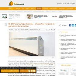 RE 2020 et chauffage électrique: l'Association française du gaz saisit le Conseil d'État