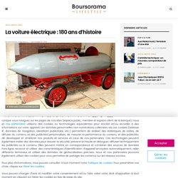 La voiture électrique : 180 ans d'histoire - Boursorama Lifestyle