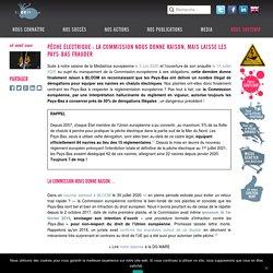 Pêche électrique : la Commission nous donne raison, mais laisse les Pays-Bas frauder