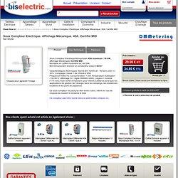Sous Compteur électrique divisionnaire modulaire Monophasé certifié MID