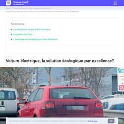 doc 12 : Voiture électrique, la solution écologique par excellence?