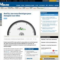 Rool'in, une roue électrique pour énergiser nos vélos