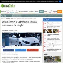 Voiture électrique ou thermique, le bilan environnemental complet