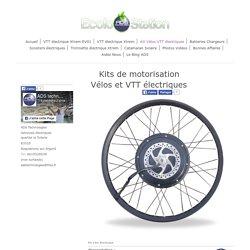 Kit vélo electrique hautes performances
