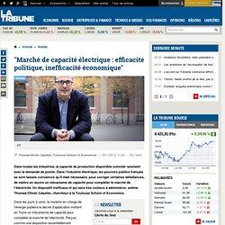 """""""Marché de capacité électrique : efficacité politique, inefficacité économique"""""""