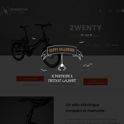 2twenty : le vélo électrique pliable - Momentum Electric
