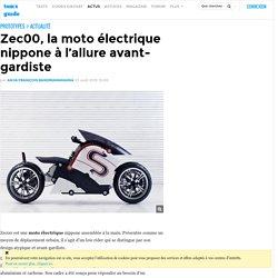 Zec00, la moto électrique nippone à l'allure avant-gardiste