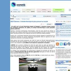 AEGT Quimera : le bolide électrique le plus puissant au monde > Transport