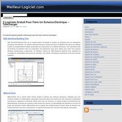 3 logiciels gratuit pour faire un schema electrique - télécharger