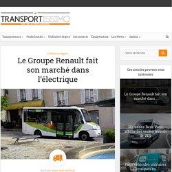 Le Groupe Renault fait son marché dans l'électrique