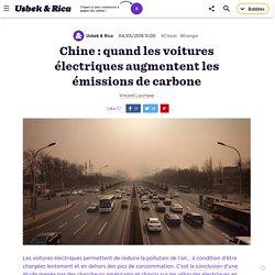 Quand les voitures électriques augmentent les émissions de carbone