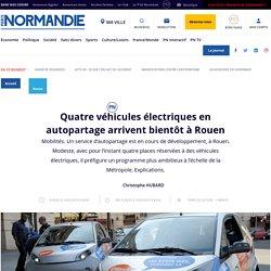 Quatre véhicules électriques en autopartage arrivent bientôt à Rouen - Rouen - Paris Normandie