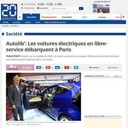 Autolib': Les voitures électriques en libre-service débarquent à Paris