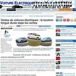 La LDD dope les ventes de voitures électriques
