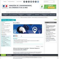 Voitures électriques et hybrides : Comment obtenir le nouveau bonus de 10 000 € ? - Ministère de l'Environnement, de l'Energie et de la Mer