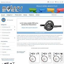 Moteurs éléctriques pour vélo - Moteuretvelo.fr