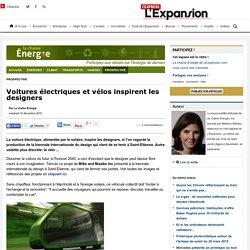 Voitures électriques et vélos inspirent les designers