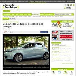 De nouvelles voitures électriques à se partager - 23/01/2015