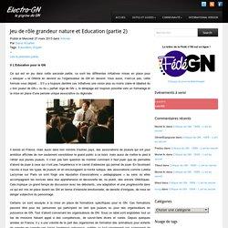 Electro-GN Jeu de rôle grandeur nature et Education (partie 2)