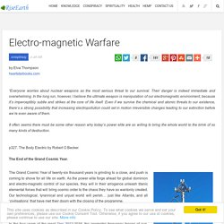 Electro-magnetic Warfare