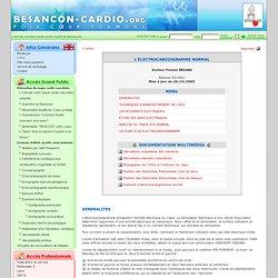 L'électrocardiogramme normal