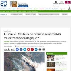 Australie: Ces feux de brousse serviront-ils d'électrochoc écologique?