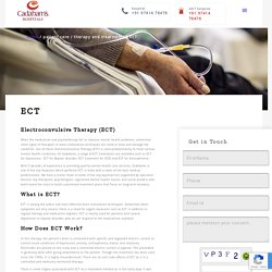 Electroconvulsive therapy Treatment (ECT)
