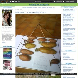 Electroculture : la tour à pommes de terre - Le blog de Françoise