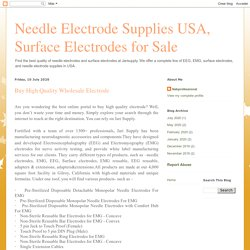 Needle Electrode Supplies USA, Surface Electrodes for Sale: Buy High Quality Wholesale Electrode