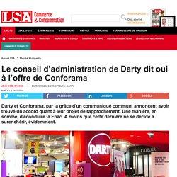 Le conseil d'administration de Darty dit oui... - Electrodomestique