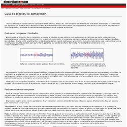 Tutorial sobre compresión de audio