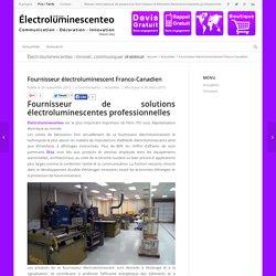 Fournisseur électroluminescent , grossiste en PLV interactive