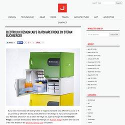 Electrolux Design Lab's Flatshare Fridge by Stefan Buchberger